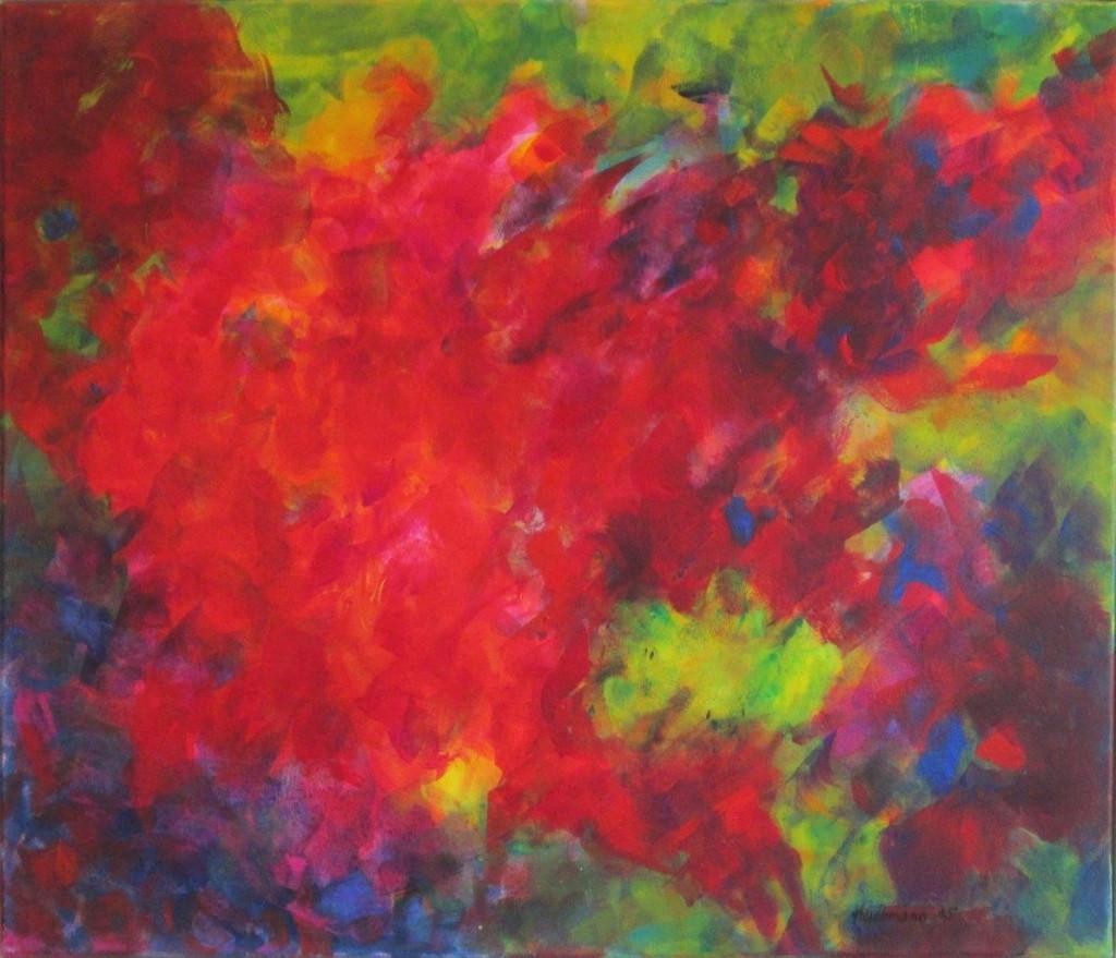 2015 04 20 Acryl auf Leinwend 60 x 70 cm