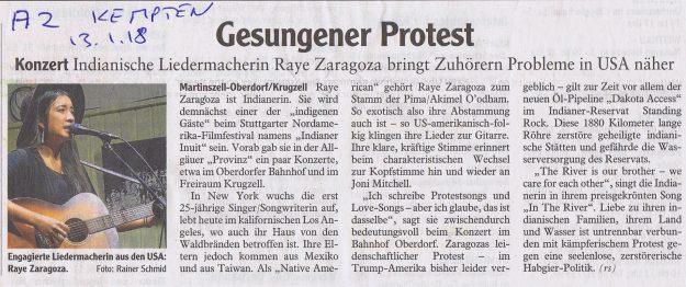 Gesungener Protest